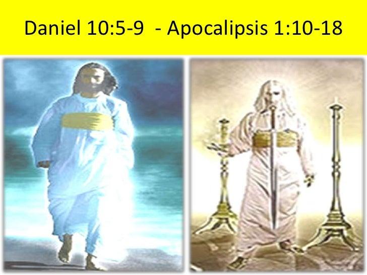 Daniel 10:5-9  - Apocalipsis 1:10-18<br />