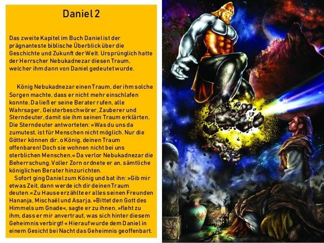 Daniel 2 Das zweite Kapitel im Buch Daniel ist der prägnanteste biblische Überblick über die Geschichte und Zukunft der We...