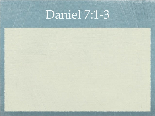 Daniel7   the judgment Slide 3
