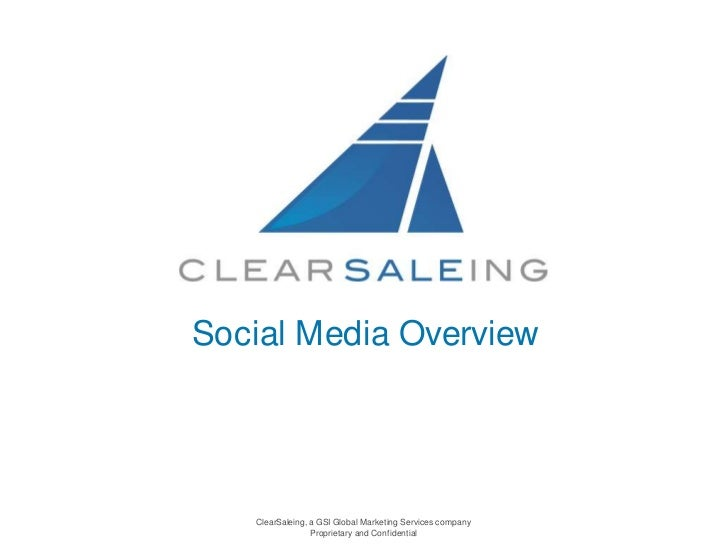 Social Media Overview<br />