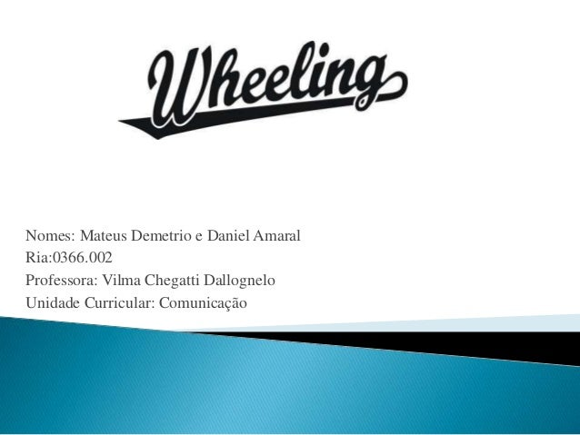 Nomes: Mateus Demetrio e Daniel Amaral  Ria:0366.002  Professora: Vilma Chegatti Dallognelo  Unidade Curricular: Comunicaç...