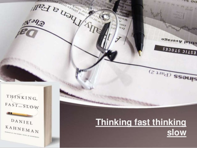 thinking fast and thinking slow pdf