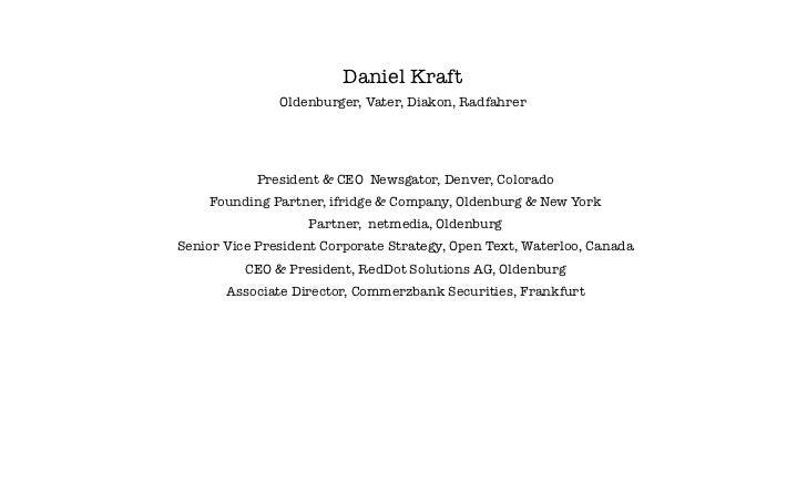Daniel Kraft - Evolution der Arbeit - Commerzbank September 2012 Slide 3