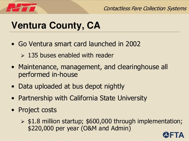 Implementing Contactless Fare Collection Systems - Danielle