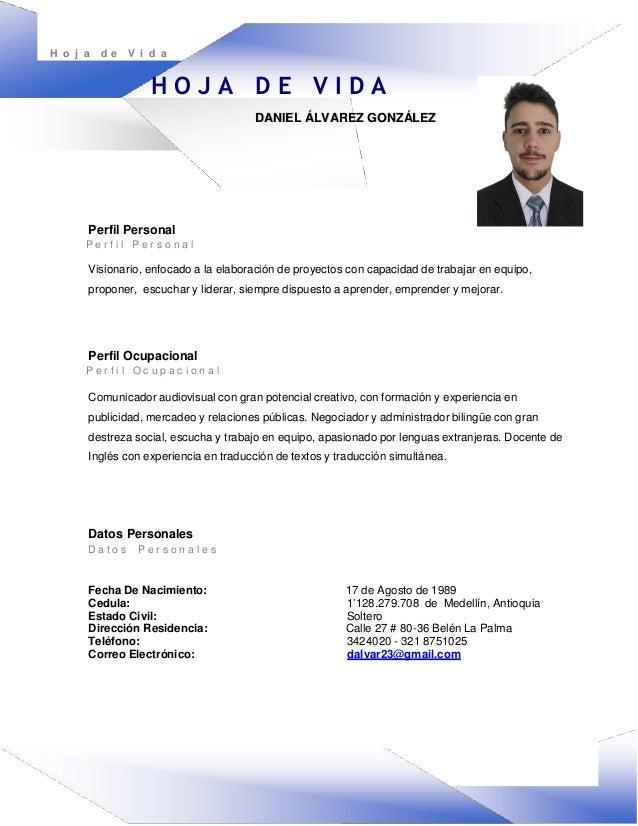 FORMATOS DE HOJAS DE VIDA PDF DOWNLOAD