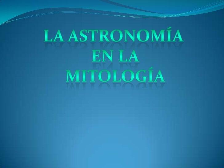 Astronomía - Daniel Martin
