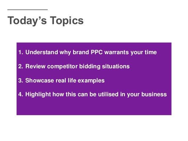 The Hidden Potential Of Brand PPC - BrightonSEO 2018 - Daniel Moore Slide 3