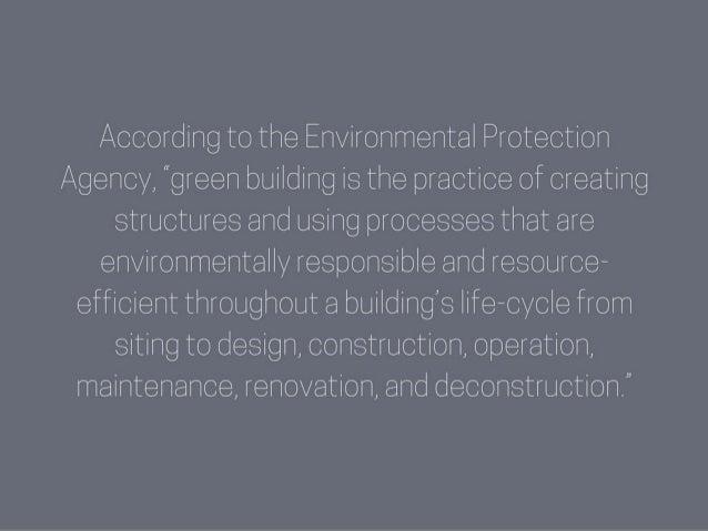 Daniel Neiditch: Why Go Green? Slide 2