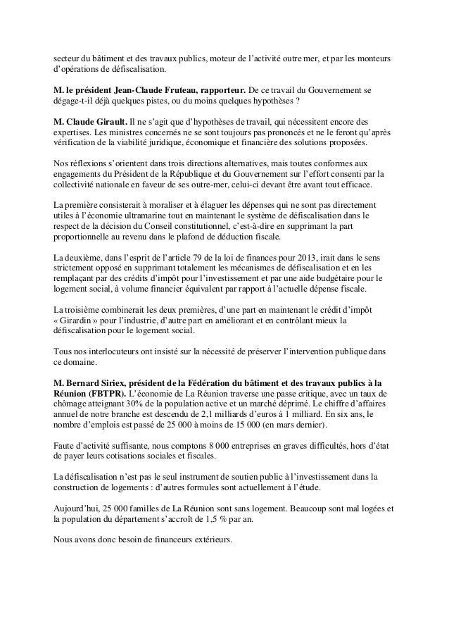 Daniel petit president Inter Invest a l'assemblee nationale Slide 2