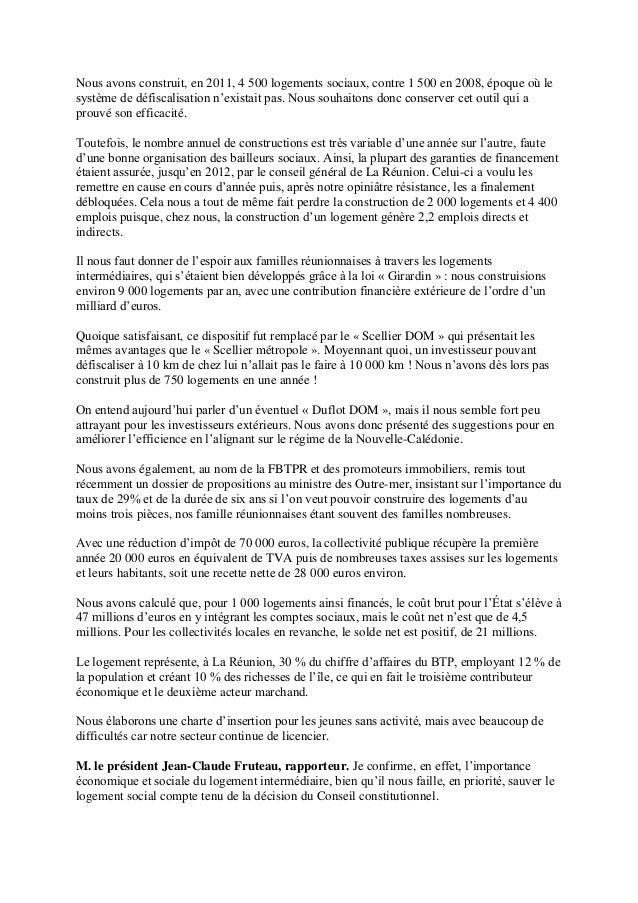 Daniel petit president Inter Invest a l'assemblee nationale Slide 3