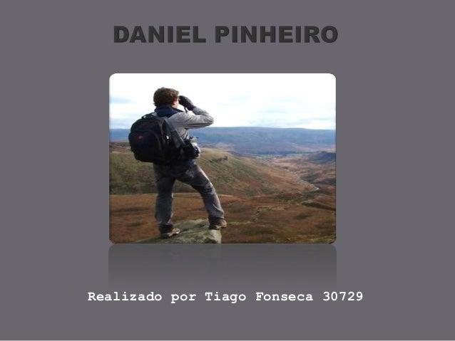Realizado por Tiago Fonseca 30729