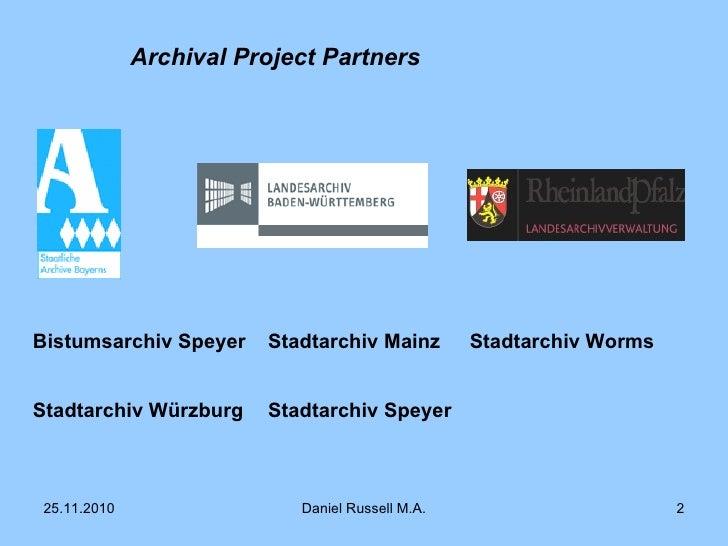 Virtual German Charters Network Slide 2