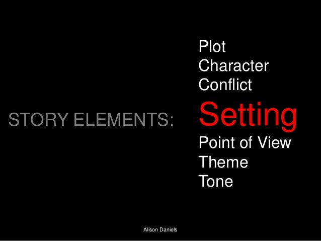Plot                             Character                             ConflictSTORY ELEMENTS:              Setting       ...