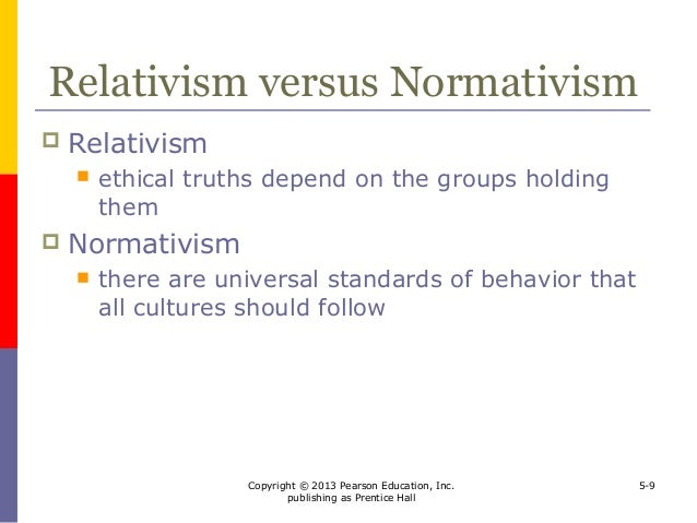 relative ethics on globalization Ethical relativism is the theory that holds that morality is relative to the norms of one's culture that is, whether an action is right or wrong depends on the moral norms of the society in which it is practiced.