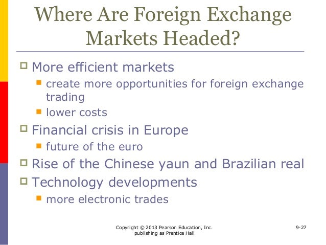 Global foreign exchange market