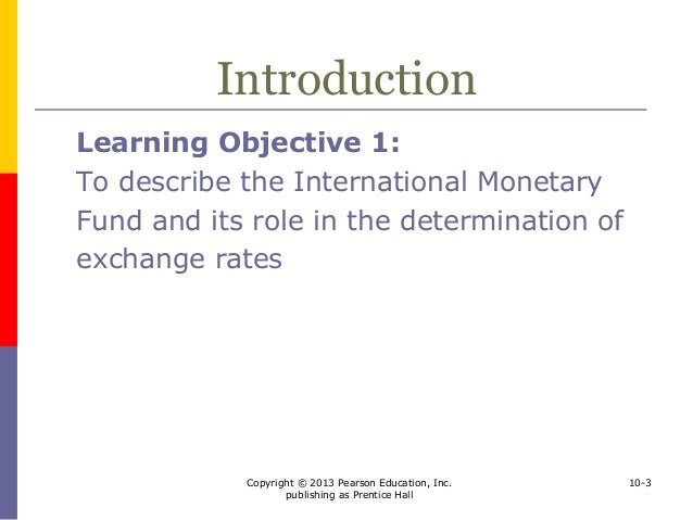 an introduction to the international monetary fund