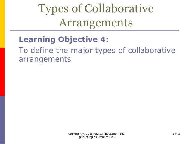 Collaborative Teaching Definition ~ Direct investment and collaborative strategies