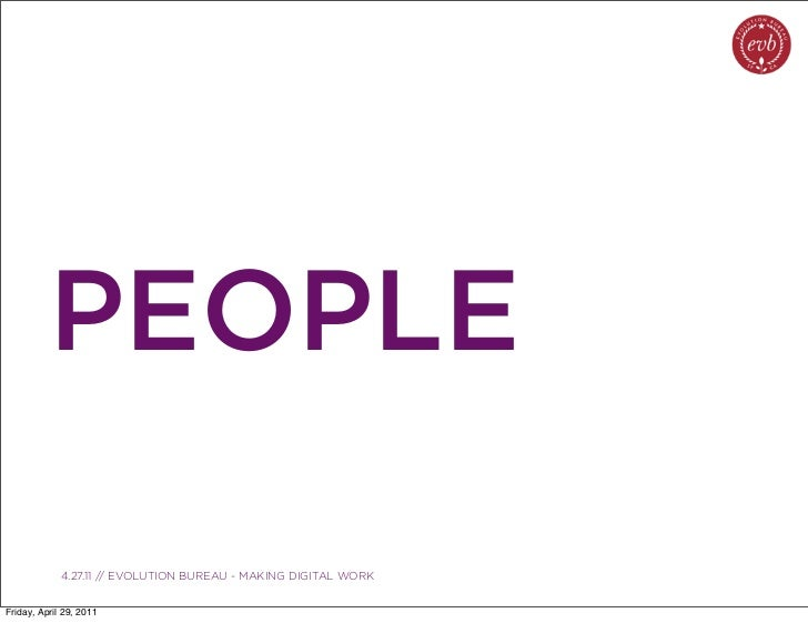 PEOPLE               03.04.10 // ORBIT // ORBIT BOULDER DIGITAL CAMPAIGN             4.27.11 // EVOLUTION BUREAU - MAKING ...
