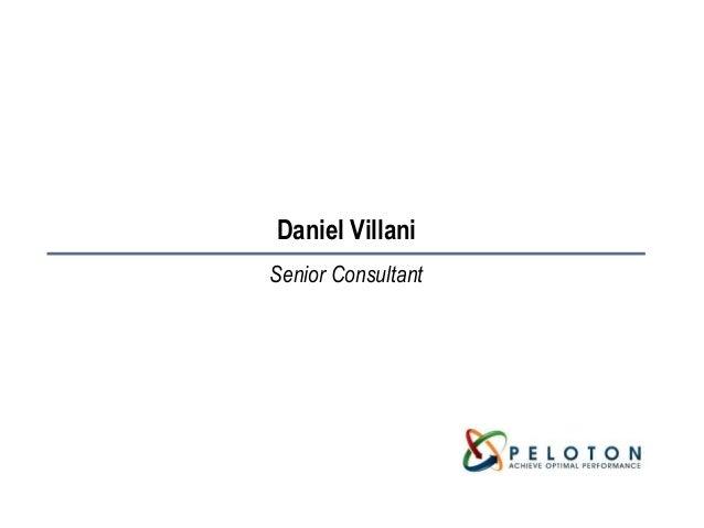 Daniel Villani Senior Consultant