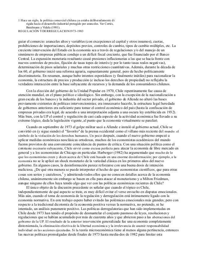 Daniel wisecarver   regulación y desregulación en chile 1973 a 1983 Slide 2