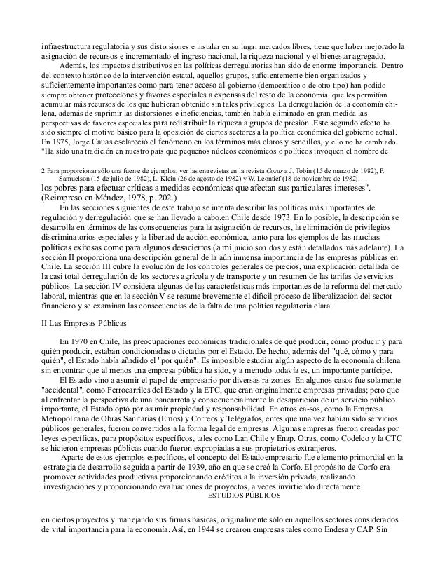 Daniel wisecarver   regulación y desregulación en chile 1973 a 1983 Slide 3