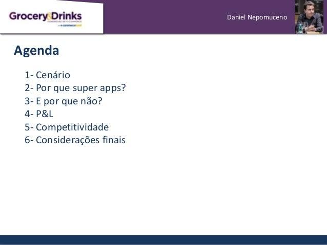 [Grocery&Drinks] Super Apps: aliados ou concorrentes? Slide 2