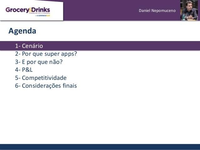 [Grocery&Drinks] Super Apps: aliados ou concorrentes? Slide 3