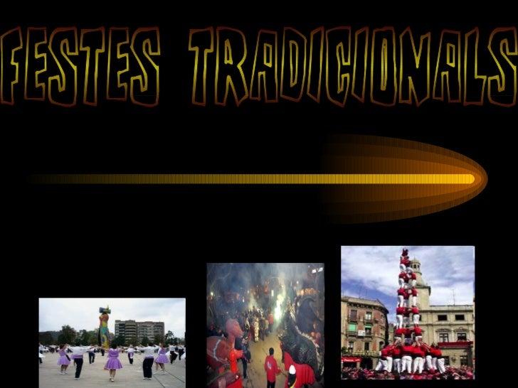 festes tradicionals