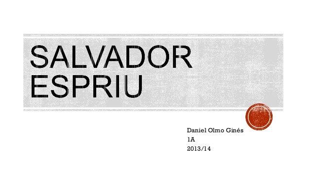 Daniel Olmo Ginés 1A 2013/14