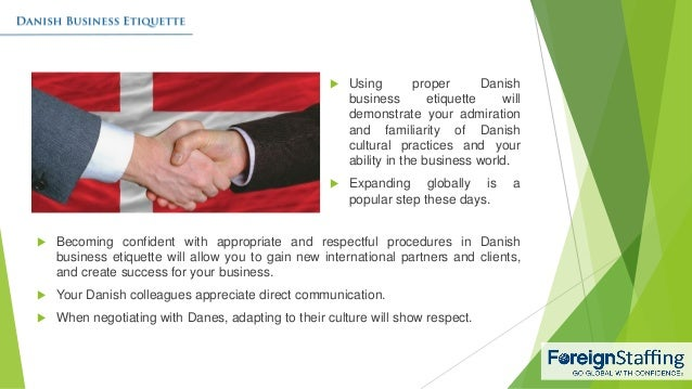 Danish Business Etiquette