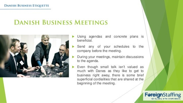 Danish business etiquette 4 reheart Image collections