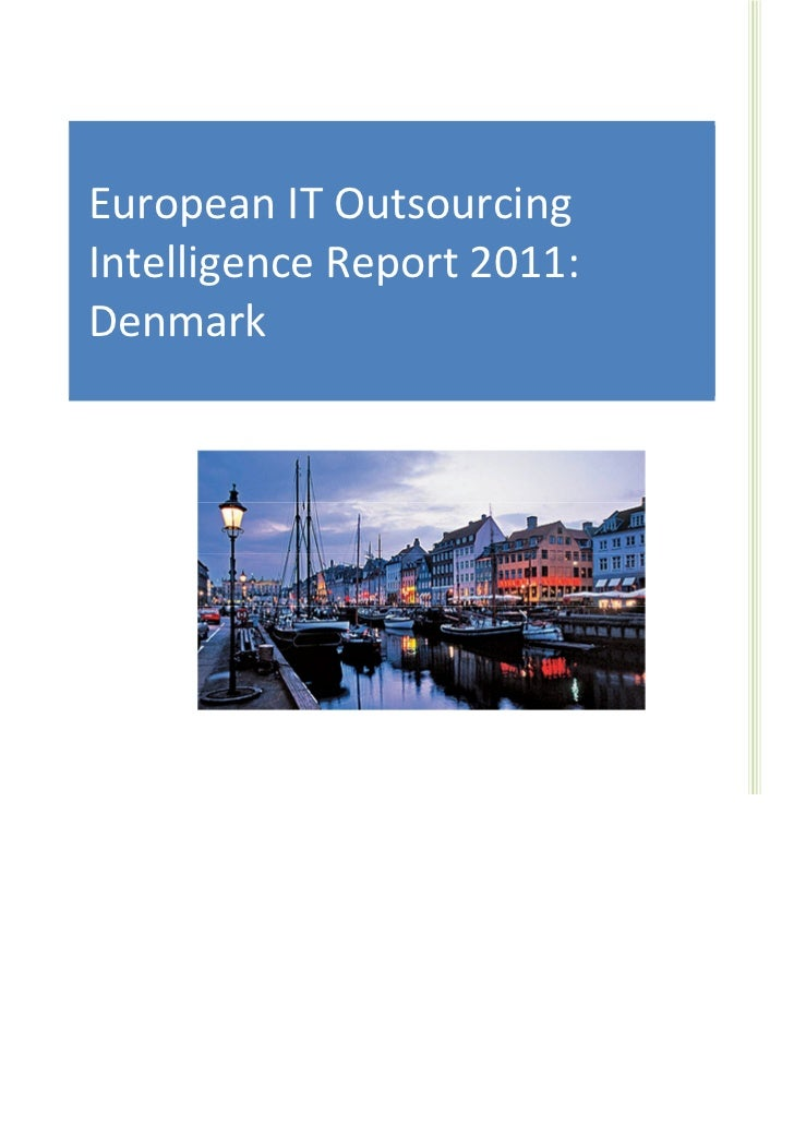 IT Sourcing EuropeEuropean IT Outsourcing     European IT Outsourcing Market                                      Intellig...