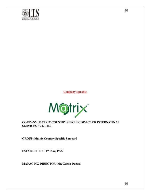 Matrix forex debit card