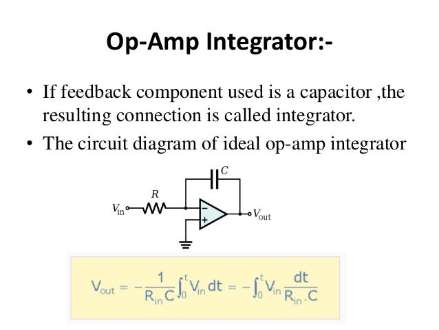 Sensational Integrator And Differentiator Op Amp Wiring Cloud Pimpapsuggs Outletorg