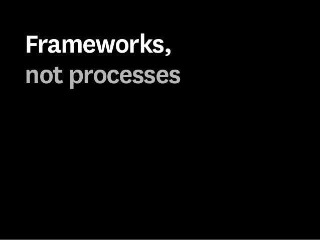 A new framework for designers