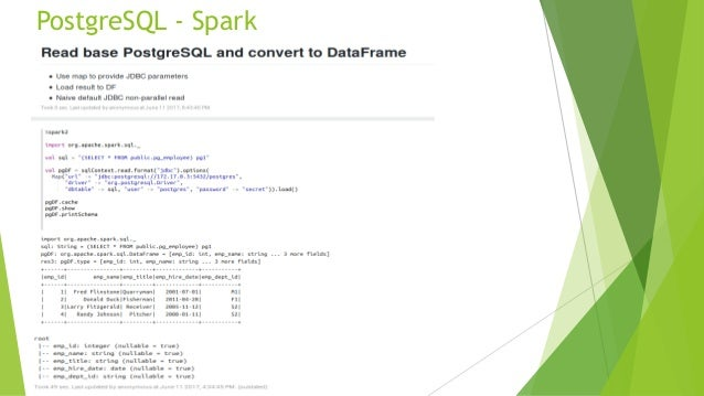Data Federation with Apache Spark
