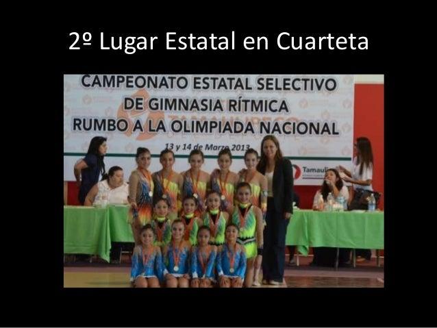 2º Lugar en Cuarteta    Copa Nacional Tampico