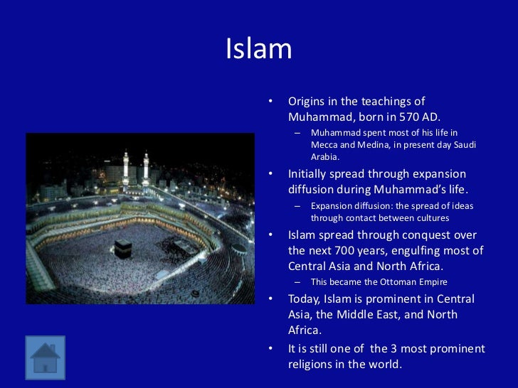 the spread of religions through conquest Religions spread through conquestwhen studying history, both in a professional and academicsense, we try to make connections between civilizations and timeperiods.