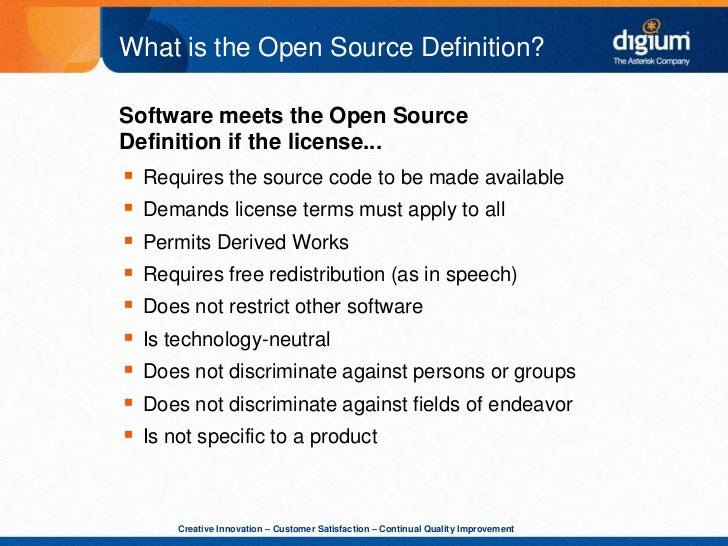 What does Open Source mean? - Definitions.net