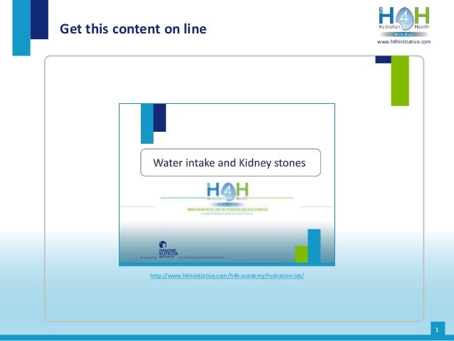 Get this content on line 1 http://www.h4hinitiative.com/h4h-academy/hydration-lab/ www.h4hinitiative.com