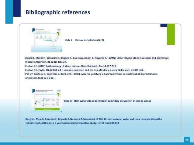 Borghi L, Meschi T, Schianchi T, Briganti A, Guerra A, Allegri F, Novarini A. (1999c) Urine volume: stone risk factor and ...