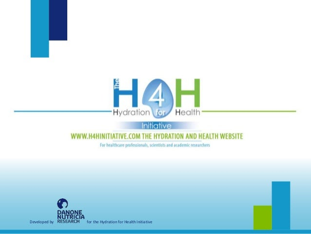 Developed by for the Hydration for Health Initiative
