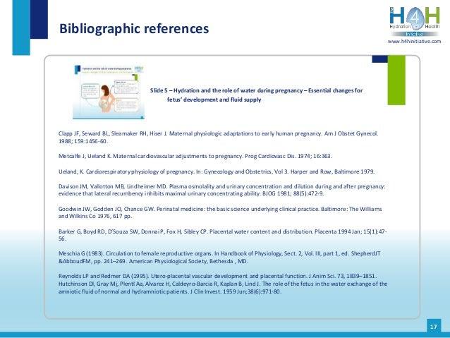 Clapp JF, Seward BL, Sleamaker RH, Hiser J. Maternal physiologic adaptations to early human pregnancy. Am J Obstet Gynecol...