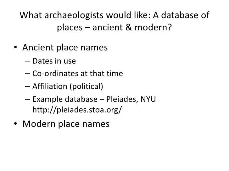 Dan Pett - British Museum - Enriched Archaeological Records - Geomob Feb 2011