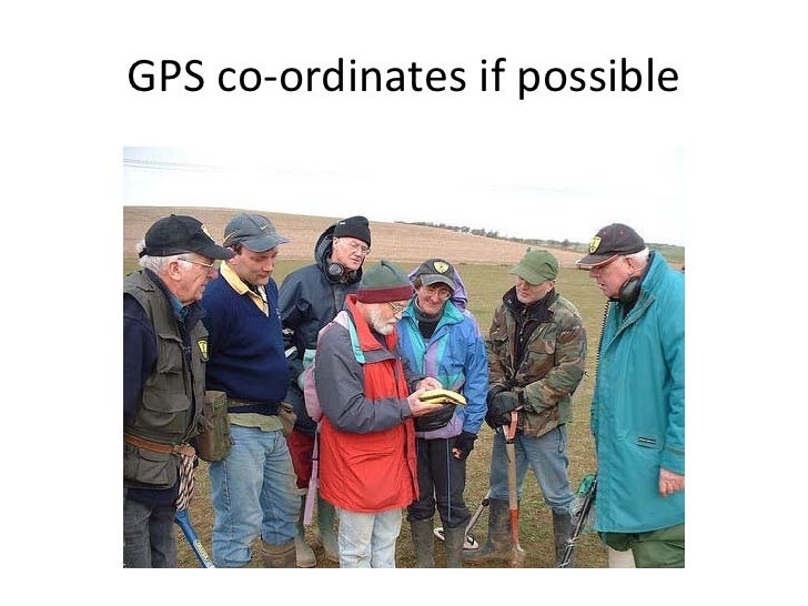 GPS co-ordinates if possible