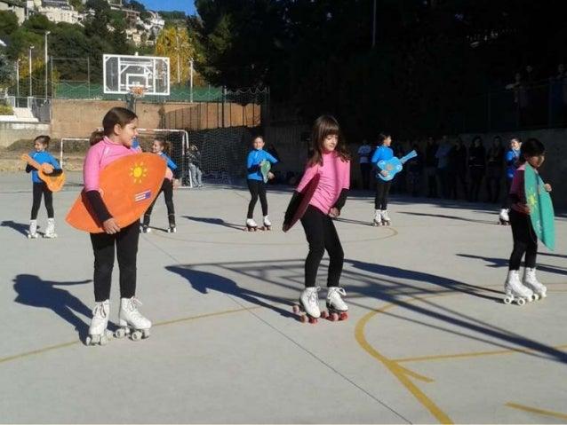 Dansa i patinatge en escena