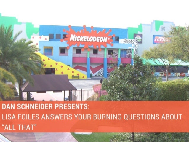 Dan Schneider Presents Lisa Foiles Answers Your Burning Questions Ab