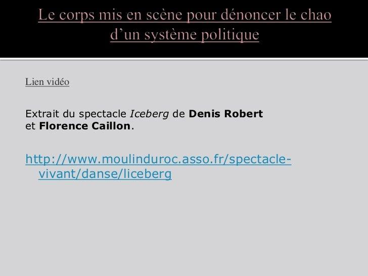 Danse et politique
