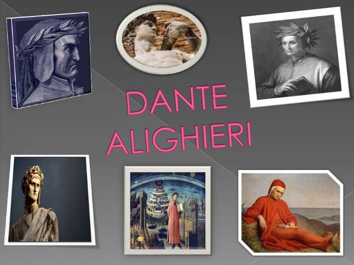 DANTE ALIGHIERI<br />
