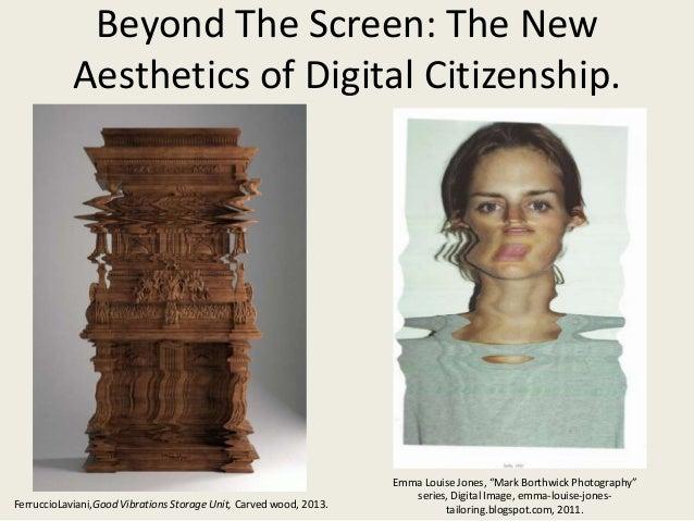 Beyond The Screen: The NewAesthetics of Digital Citizenship.FerruccioLaviani,Good Vibrations Storage Unit, Carved wood, 20...